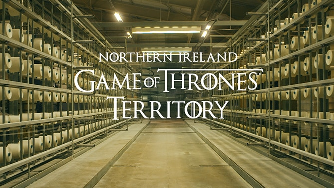 Northern Ireland TB  'Game of Weaves'
